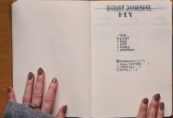 Bullet Journal für die Fitness